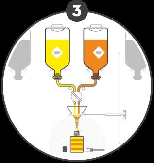 Etape 3 : Création du parfum au comptoir !