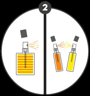 Etape 2 : Choisissez de mélanger ou de superposer